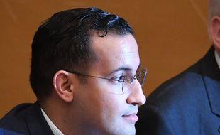 Paris, le 21 janvier 2019. Alexandre Benalla est convoqué, pour la seconde fois, par la commission d'enquête sénatoriale.