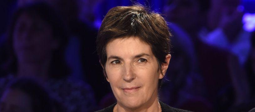 Christine Angot sur le plateau d'«On n'est pas couché».