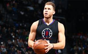 Blake Griffin, des Los Angeles Clippers, en décembre 2015 à Brooklyn.