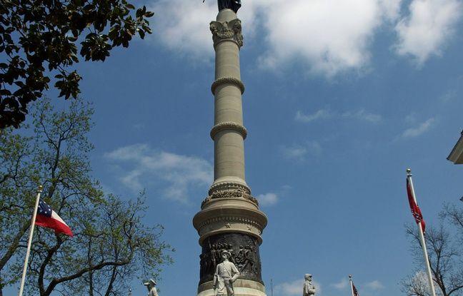 Le monument aux confédérés actuel