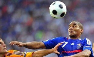 A la mi-temps, la Roumanie et la France sont à égalité 0 à 0 en match comptant pour le groupe C de l'Euro-2008 de football, lundi à Zurich.