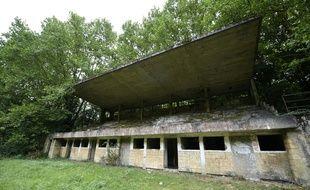 Le stade de Joeuf, où Michel Platini a fait ses débuts, pourrait être rasé.