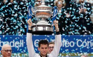 Dominic Thiem s'impose en finale de l'ATP 500 de Barcelone.