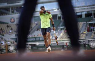 L'Espagnol Rafael Nadal, le 7juin 2021, à Roland-Garros, Paris.