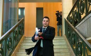 Laroussi Oueslati, ancien président de l'université de Toulon, le 18 janvier 2016 à Marseille