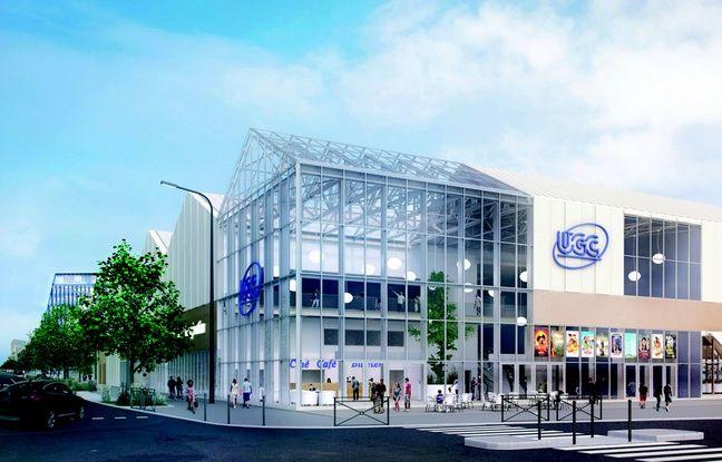 L'îlot Cap de Bonne Espérance, au sein du projet Quai des Caps, accueillera le cinéma UGC de 13 salles.