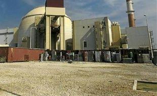La centrale nucléaire de Bushehr, en Iran, a été mise en service le 3 mars 2011.