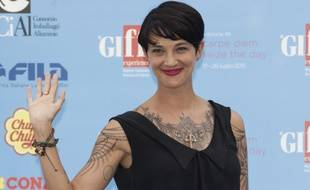 L'actrice Asia Argento.