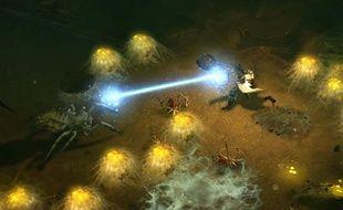"""""""Diablo 3"""", jeu de rôle et d'action créé par Blizzard."""