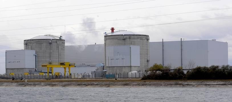 Centrale nucléaire de Fessenheim, en 2008.