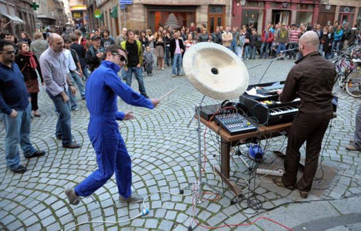 Lors de la Fête de la musique à Strasbourg. – G. VARELA / 20 MINUTES