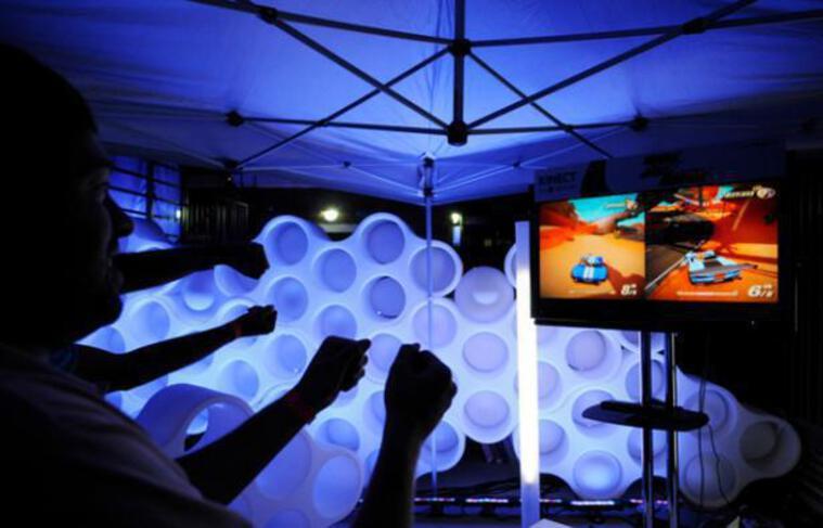 Kinect sur XBOX 360.