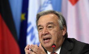 António Guterres, secrétaire général de l'ONU
