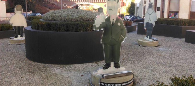 L'effigie de Paul Volfoni (Jean Lefebvre) a disparu du giratoire des Tontons Flingueurs, à Montauban. Tout comme celle de son frère Raoul (Bernard Blier).
