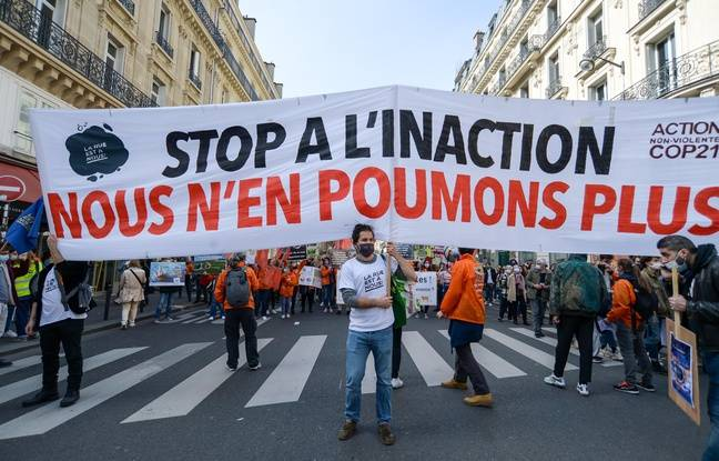648x415 manifestation pour une vraie loi climat a paris le 28 mars 2021