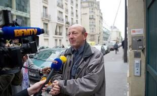 Jean-Luc Bennhamias, le 3 mai 2012 à Paris.