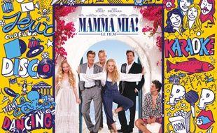 L'affiche de la séance Cinéma Karaoké de 'Mamma Mia !'.