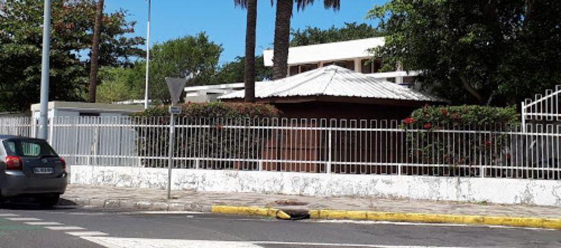 Le commissariat du Port, à La Réunion.