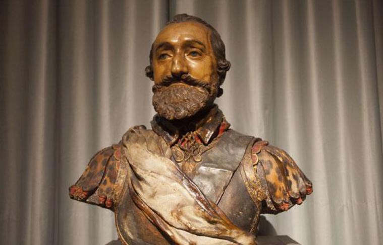 Buste d'Henri IV au château de Chantilly