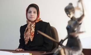 L'avocate et militante iranienne Nasrin Sotoudeh a été faite citoyenne d'honneur de la Ville de Paris le 1er avril 2019.