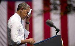 Barack Obama lors de son discours sur le climat, le 25 juin 2013.