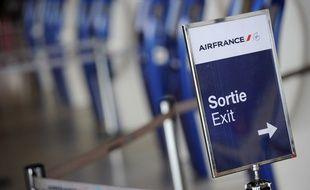 A l'aéroport Roissy Charles-de-Gaulle, le 24 septembre 2014.