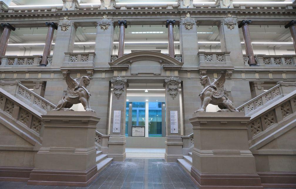 photos et voil le nouveau palais de justice de strasbourg. Black Bedroom Furniture Sets. Home Design Ideas