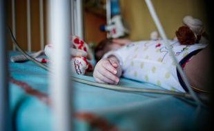 Illustration enfant hospitalisé.