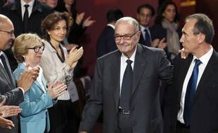 L'ancien président de la République Jacques Chirac.