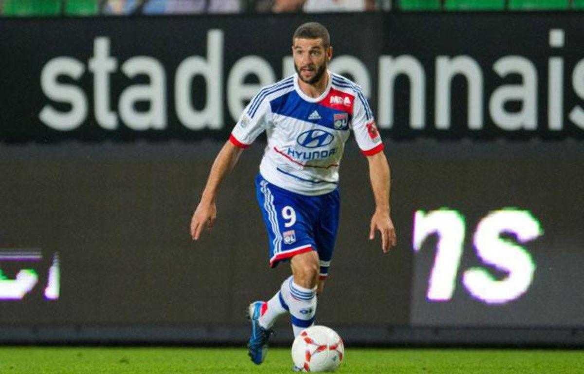 Lisandro Lopez lors de la 1ere journée de Ligue 1 à Rennes, au Stade de la route de Lorient, le 11 août 2012. – LANCELOT FREDERIC/SIPA