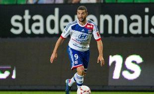 Lisandro Lopez lors de la 1ere journée de Ligue 1 à Rennes, au Stade de la route de Lorient, le 11 août 2012.