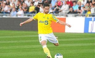 Olivier Veigneau, joueur du FC Nantes, en 2011.