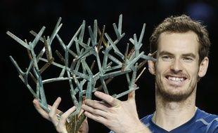 Andy Murray a remporté pour la première fois le Masters 1000 de Bercy, le 6 novembre 2016.