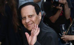 Azzedine Alaïa, le 5 juillet 2016 à Paris