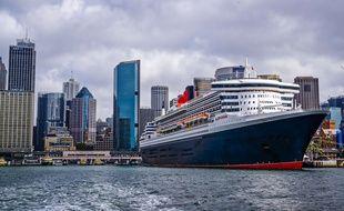 Le Queen Mary 2 (ici à Sydney) partira de Saint-Nazaire en direction de New York.