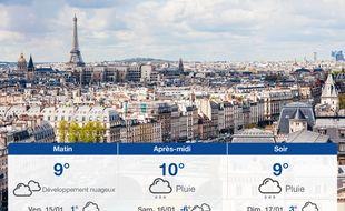 Météo Paris: Prévisions du jeudi 14 janvier 2021