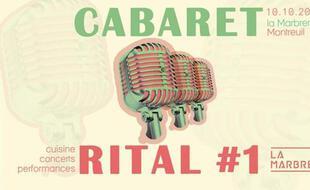 Visuel officiel du Cabaret Rital