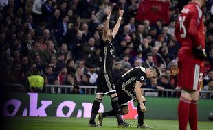 Hakim Ziyech ouvre le score pour l'Ajax contre le cours du jeu au Real...
