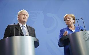 Angela Merkel et Boris Johnson jugent prématuré un retour de la Russie dans le G7.