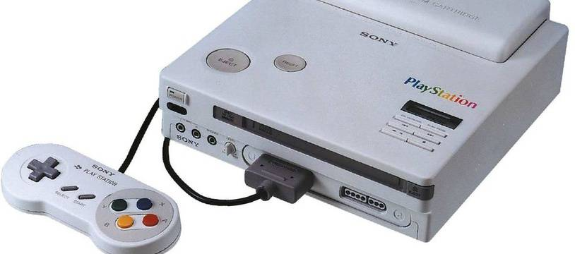 Un prototype de PlayStation Nintendo en vente sur Internet