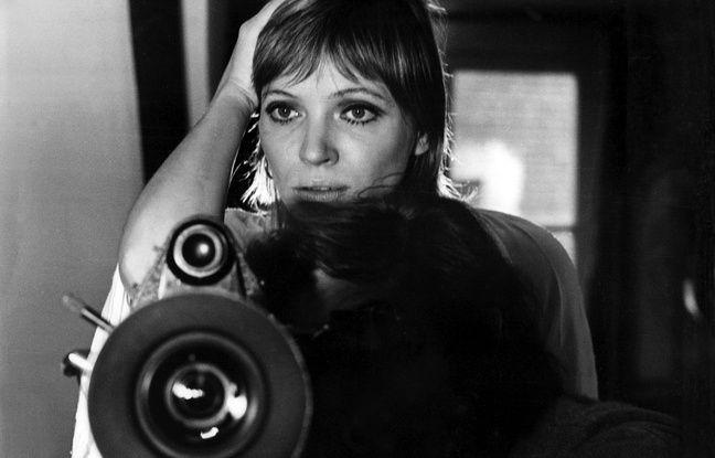 Anna Karina derrière la caméra en 1973 pour son film Vivre Ensemble