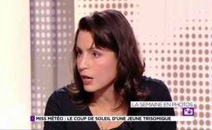 Julie Graziani dérape sur sur Arte dans l'émission « Le Club 28 »