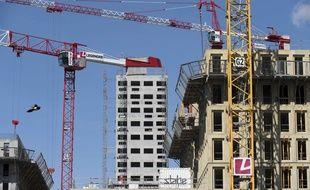 Construction de logements à Nantes (illustration).