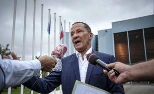 Le président de la Collectivité territoriale de Guyane Rodolphe Alexandre, le 30 avril 2020 à Cayenne.