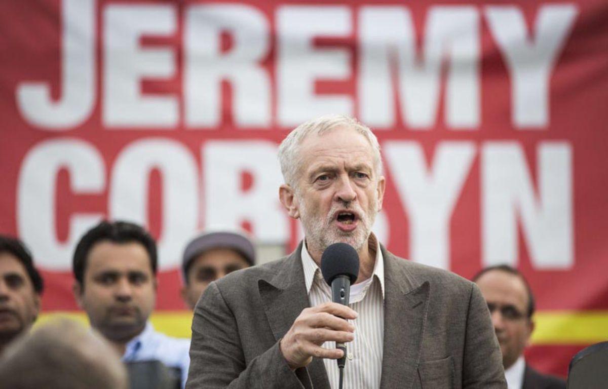 Jérémy Corbyn, candidat à la direction du Parti travailliste – LNP/REX Shutterstock/SIPA
