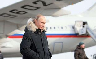 Le président russe Vladimir Poutine à Ekaterinbourg, le 6 mars 2018.