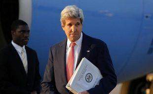 Le secrétaire d'Etat américain John Kerry à son arrivée le 13 juillet 2014 à Vienne