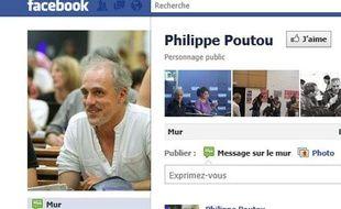 Capture d'écran de la page Facebook de Philippe Poutou.