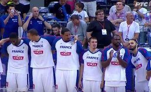Les Bleus ont chanté La Marseillaise comme des grands en Serbie.