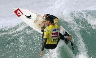 Michel Bourez accède en 2009 à l'ASP, le circuit le plus prestigieux du surf mondial.